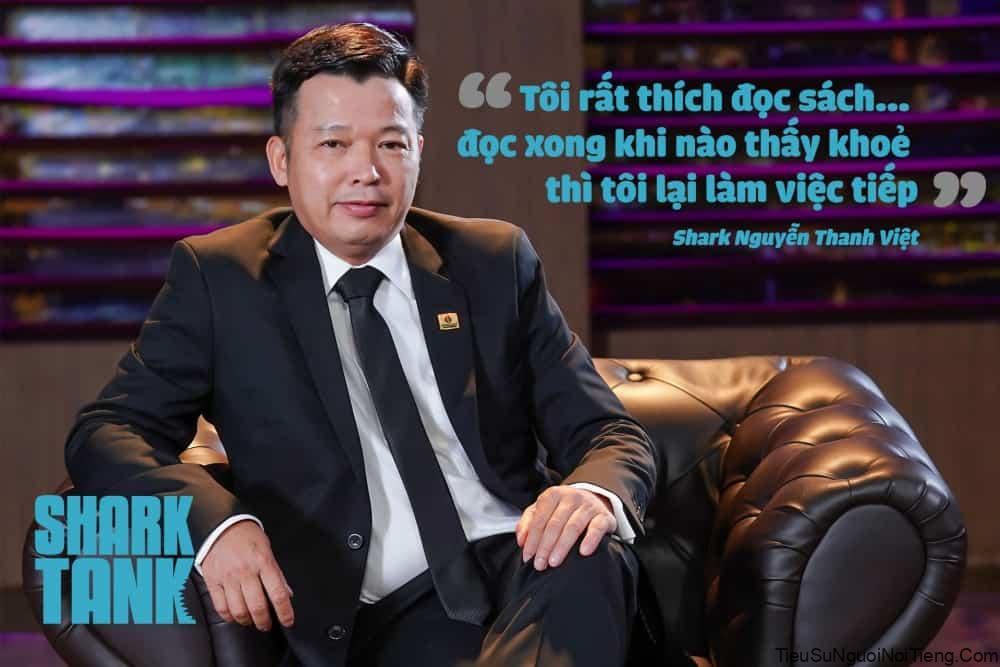 Tiểu sử shark Nguyễn Thanh Việt